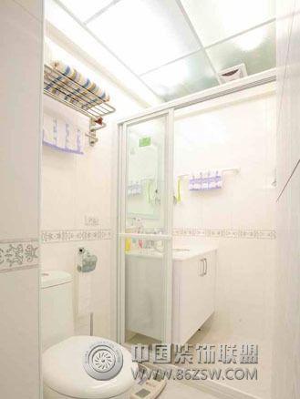 75平米旧房改造案例-卫生间装修图片