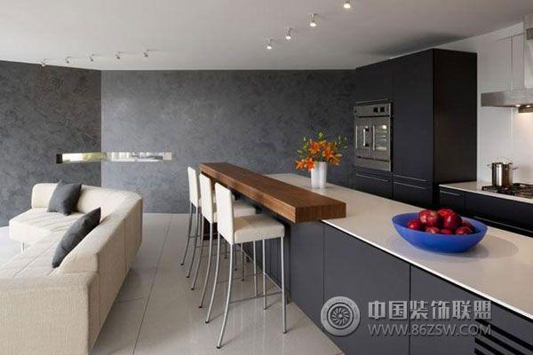 典型美式简约风格室内设计-过道装修图片