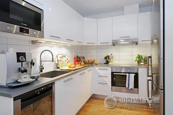 瑞典纯朴感小公寓-厨房装修图片