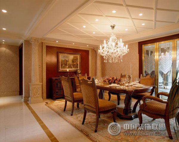 效果图   古典奢华复式样板间-卫生间装修效果图-八六装饰网