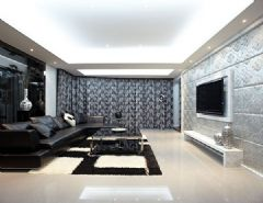 9.3万元打造168㎡现代时尚雅居
