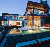 加州豪宅区的一幢别墅