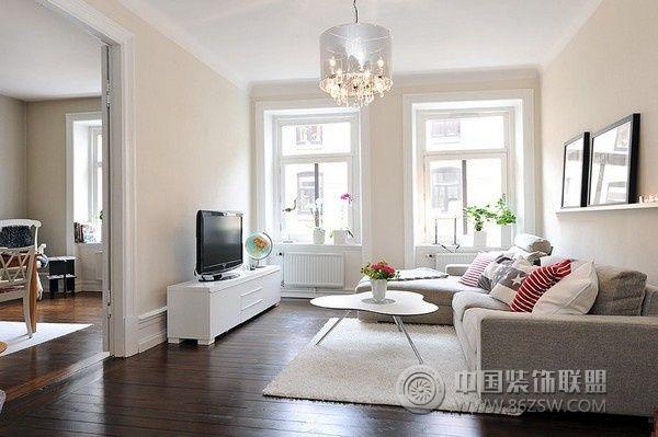 哥德堡的创意公寓客厅装修图片