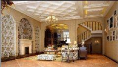 金色湖岸b1型联排别墅欧式风格别墅
