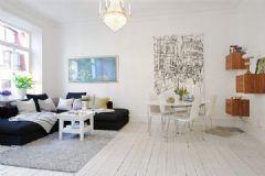 瑞典简约迷人的公寓
