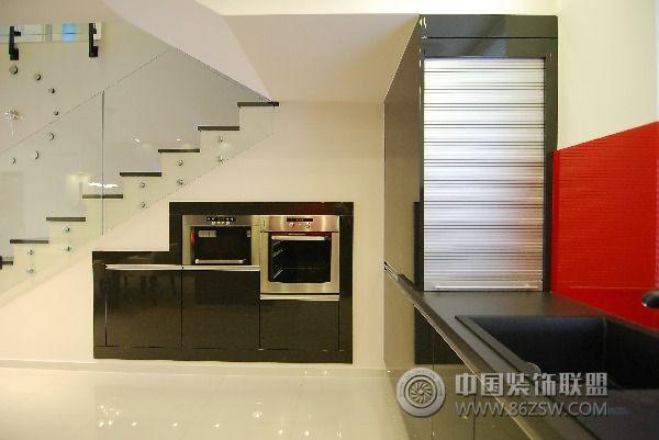 130平方米复式公寓_简约公寓装修效果图_八六(中国)(.图片