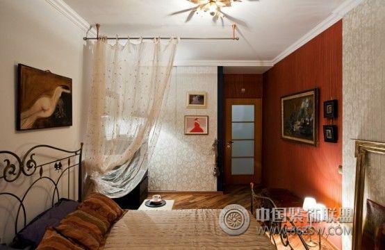 70平米小公寓复古风整套大图展示_混搭公寓装修效果图