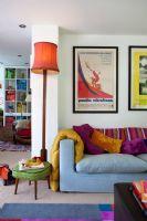 色彩缤纷的外国公寓