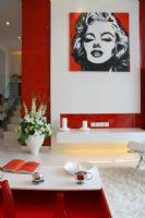 红色艳丽演绎完美婚房