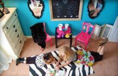 淡蓝色儿童房设计