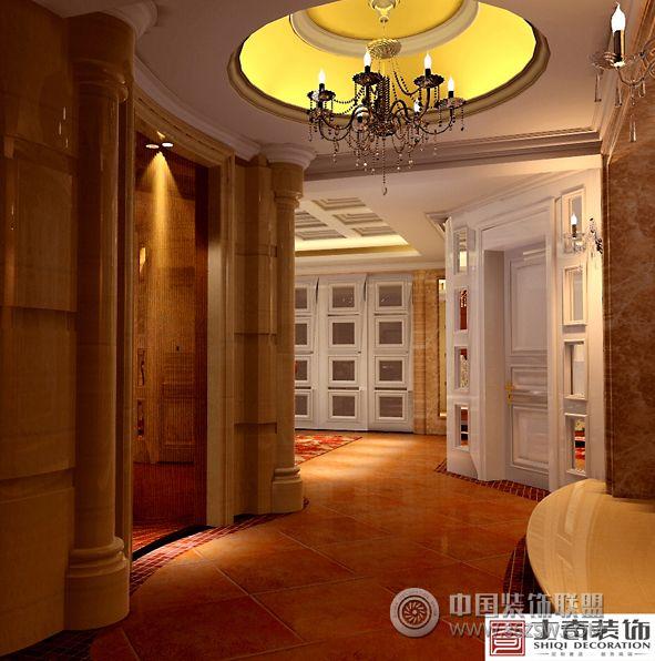 欧美风情设计案例欧式客厅装修图片