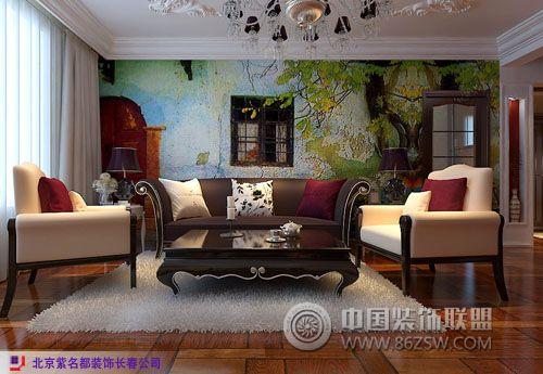 多层洋房地中海客厅装修图片