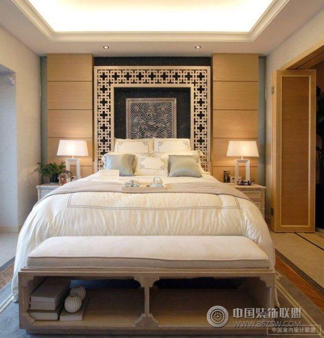 万科样板房实景-卧室装修图片