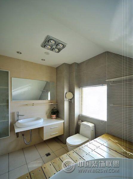 110平米阳光通透暖巢-卫生间装修图片