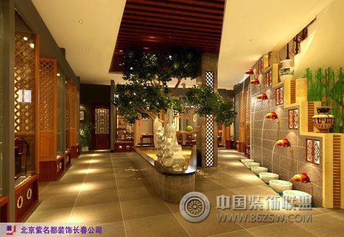 富奥茶楼400m2二层加阁楼〔传统中式〕茶馆装修图片
