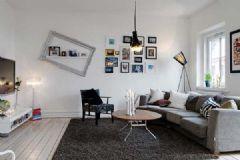 典型北欧风格迷人公寓