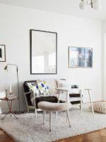 54平米纯白色复古公寓