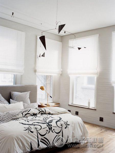清新风格家居一简约卧室装修图片