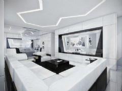 黑白色调的家居设计