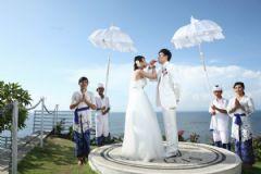 巴厘岛浪漫婚姻殿堂
