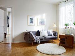 """北欧69平米质朴""""甜园""""公寓"""