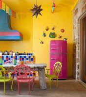 色彩艳丽的厨房设计