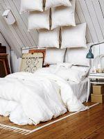 舒适柔软床的惬意享受一