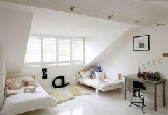 超酷的阁楼卧室设计一
