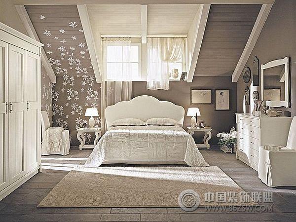 超酷的阁楼卧室设计二简约卧室装修图片