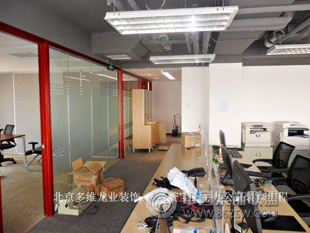 多维龙业装饰承接时间国际办公室装修工程 办公装修效果