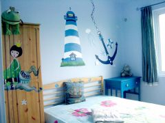 蓝白童趣小屋