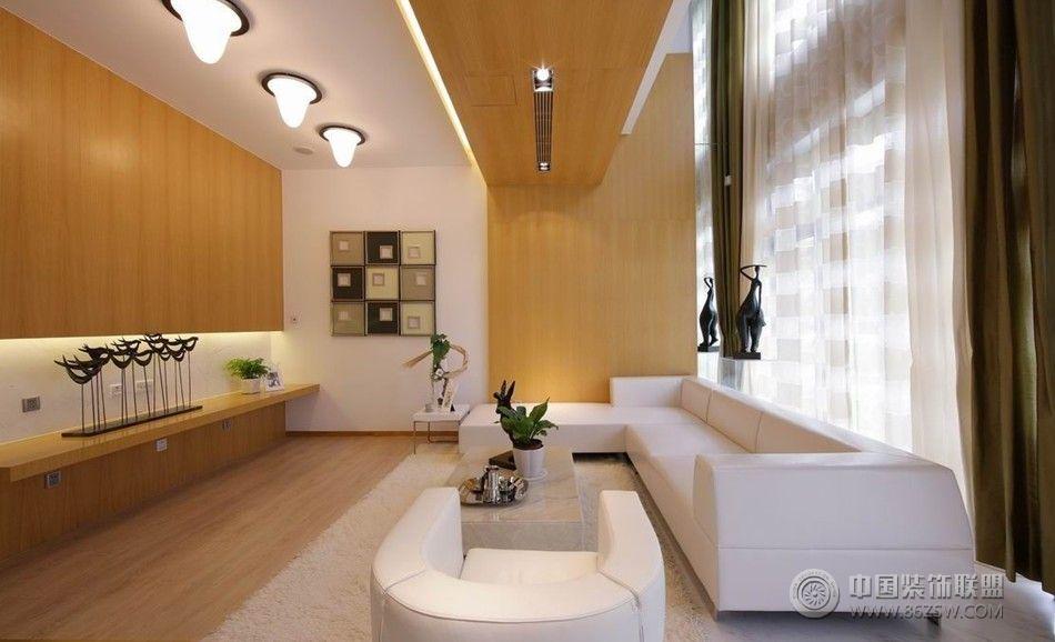 演绎个性奢华现代客厅装修图片