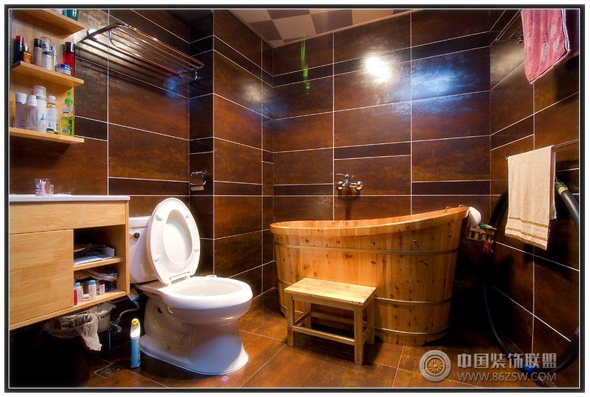 80后夫妇演绎中式婚房 餐厅装修效果图高清图片