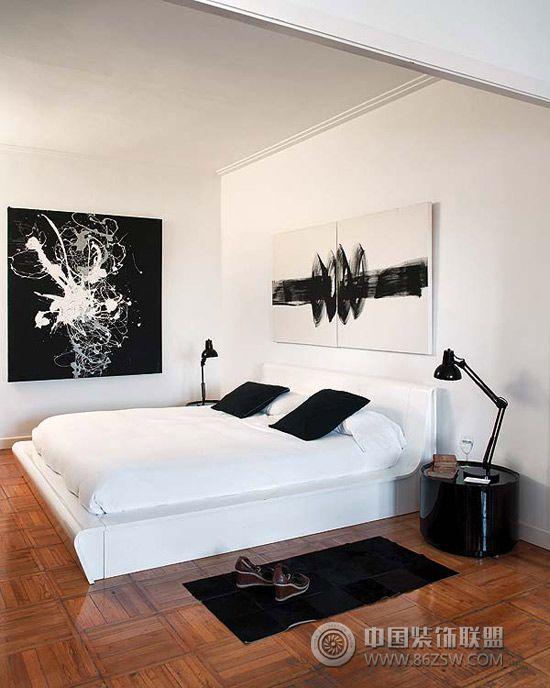 150平米印象派艺术空间-卧室装修图片
