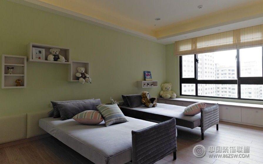 白色简欧现代理想空间-卧室装修效果图-八六(中国)