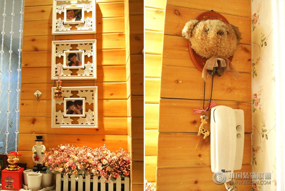 平米碎花田园 卧室装修效果图 -7万装64平米碎花田园 卧室装修图片