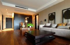 12万打造中式混搭新古典大户型公寓