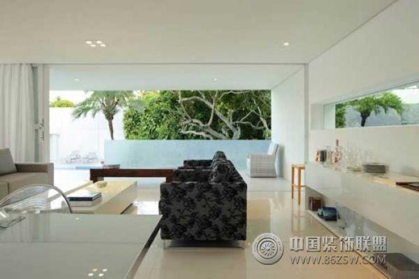 巴西舒适阳光住宅 客厅装修图片