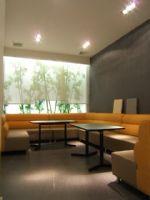 琉鄀瀅奶茶店装修施工案例