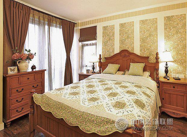 美式田园大气家-卧室装修图片