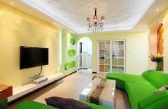 绿色清爽婚房