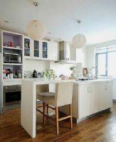时尚蜗居现代厨房装修图片