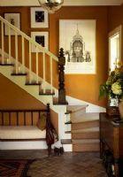 复式房间楼梯细节处理现代风格
