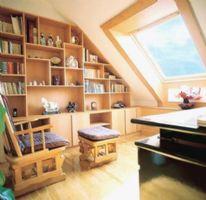 阁楼书房装修欣赏
