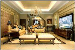 天津430平美式风格别墅