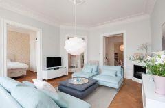 90平米斯德哥尔摩的公寓