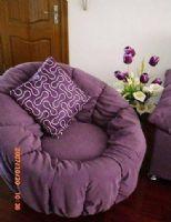 紫色小复式空间
