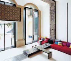 简单设计的客厅风格现代风格