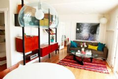温馨靓丽的90平两居室