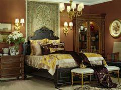华贵的佛罗伦萨风情卧室